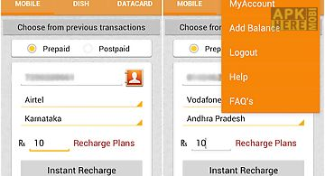 Mobile recharge & tariffs