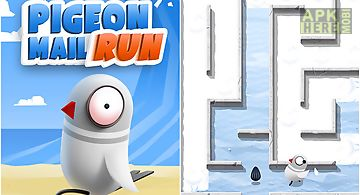 Pigeon mail run: maze puzzle