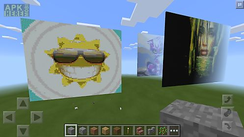 Pixelart builder for minecraft for Android free download at