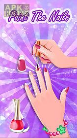 princess nail dress up salon