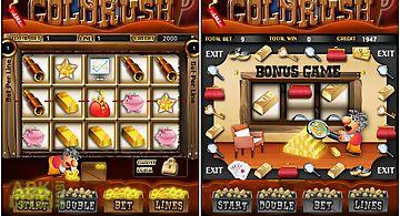 Gold rush slots machines