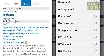 Multitran russian dictionary