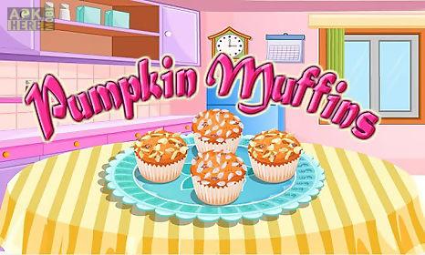 pumpkin muffins cooking