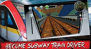 Subway train simulator 3d