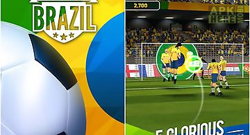 Flick soccer: brazil