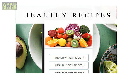 Healthy recipes food for android free download at apk here store healthy recipes food forumfinder Image collections
