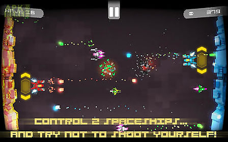 twin shooter: invaders