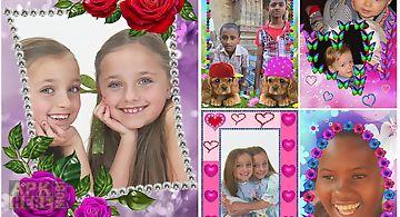 Animated photo frames.