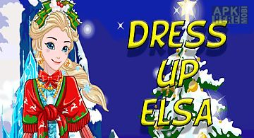 Dress up elsa for the new year