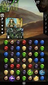 magic: the gathering. puzzle quest