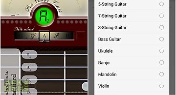 Guitar tuner free - guitartuna for Android free download at