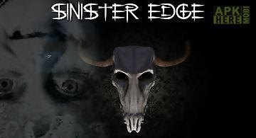 Sinister edge: 3d horror game