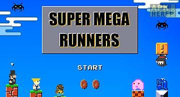 Super mega runners 8-bit jump