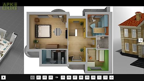 3d model home for Android free download at Apk Here store - ApkHere.Mobi