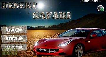 Car racing 3d - desert safari
