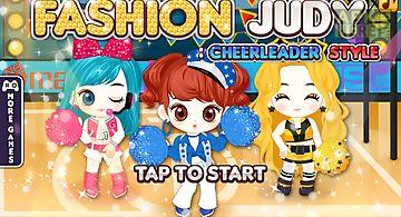 Fashion judy: cheerleader