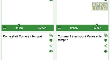 Italian - french translator