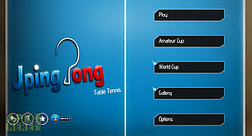 Jpingpong table tennis free