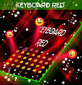 red keyboard glow go