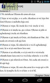 Yoruba bible for Android free download at Apk Here store