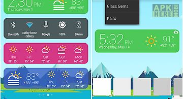 Kairo (for hd widgets)