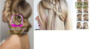 Braided hairstyles steps 2016