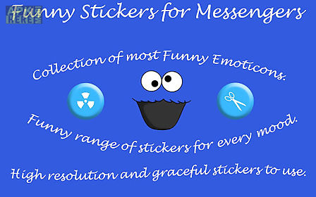 funny stickers for messenger