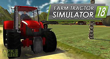 Farm tractor simulator 18
