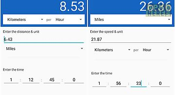 Speed distance time calculator