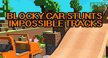 Blocky car stunts: impossible tr..