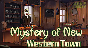 Mystery of new western town: esc..
