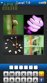 word game ~ 4 pics 1 word
