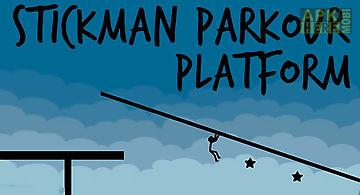 Stickman parkour platform