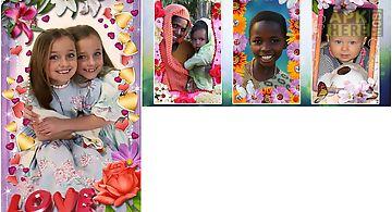 Animated flower frames.
