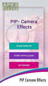 pip camera effects