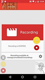 recme free screen recorder hd