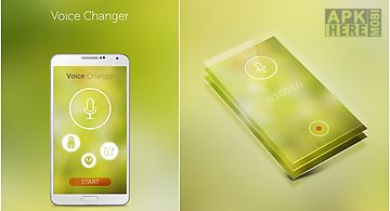 Simple voice changer free for Android free download at Apk Here