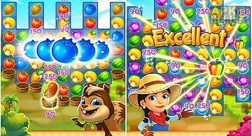 Harvest mania - match-3 puzzle