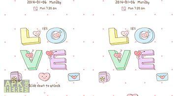 Love go locker theme