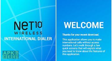 Net10 international calls