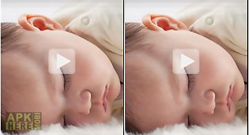 Baby deep sleep effect