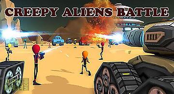 Creepy aliens battle simulator 3..