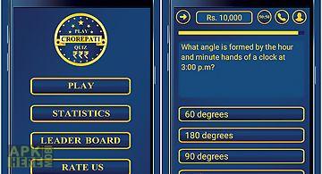 Crorepati quiz game