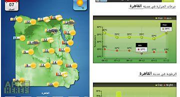 Egypt weather - arabic