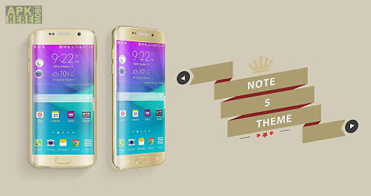 note 5 galaxy launcher theme