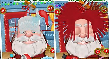 Christmas kids hair salon