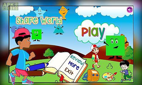 edushapes: the toddler game