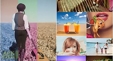 Filter grids - photo editor