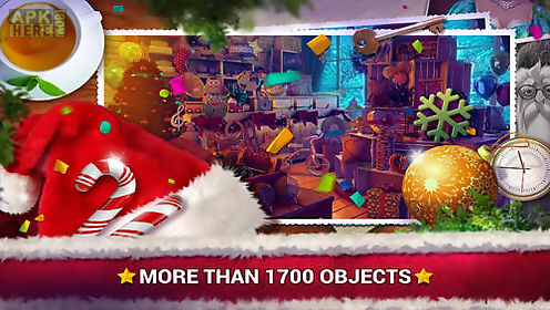 hidden objects: christmas gifts