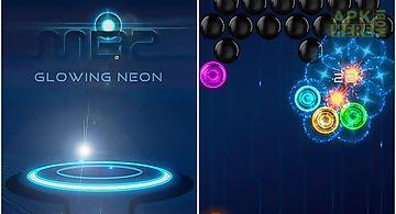 Magnetic balls 2: glowing neon b..
